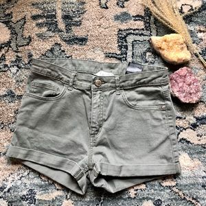H&M Green Shorts